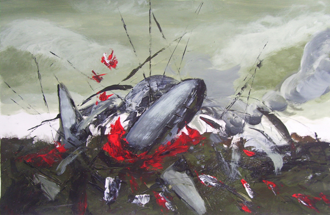 Image result for airplane painting crash